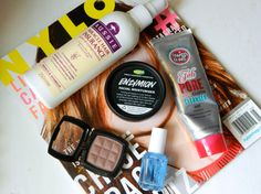 April Beauty Favourites. Lush Enzymion. NYX Taupe Blush. Essie. Aussie. Soap and Glory. http://wp.me/p3n0el-4g