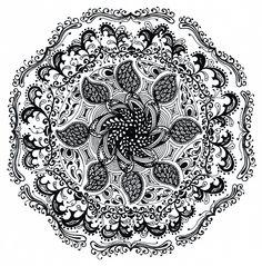 ElendiliBisart Zentangle, Mandala Zentangle, Mandala, Rest, Zentangles, Zen Tangles, Mandalas, Coloring Pages Mandala, Doodles