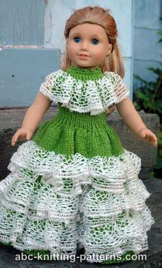 American Girl Doll Southern Belle Dress