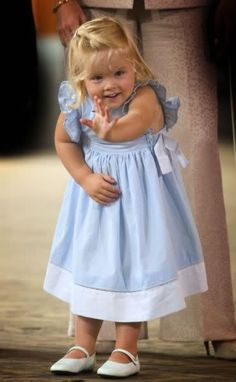 Princess Amalia, daughter of King Willem-Alexander and Queen Maxima of the Netherlands