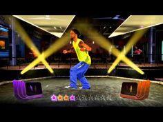 Zumba Fitness Rush - El Batazo - medium intensity Reggaeton + multiplayer (2 players) gameplay - YouTube