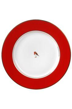 PiP Love Birds Dinner Plate Red