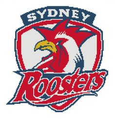 I'm selling Sydney Roosters cross stitch chart - A$3.30 #onselz