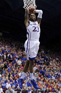 Kansas University McLemore (best player EVER)