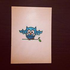 Hoot. #illustration #doodle #doodling #doodleaday #doodles #drawing #drawingaday #instaart #instaartist #instadoodle #instagramartists #instagramart #art #artstagram #artmarker #micron #artmarkers #owl #owls #buhos #woodlandanimals #bird #jennysuchindesigns