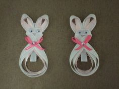 Easter Bunny Hair Bows..click here to get some!