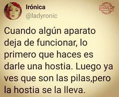 Frases Humor, Thoughts, Funny, Fun Stuff, Random, Funny Taglines, Hilarious Pictures, Hilarious, Fun Things