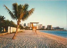 Alamoana beach Park, Hon, HI.   on 1985?