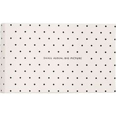 It All Just Clicked Kate Spade New York Photo Album