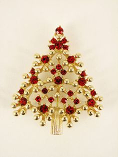 Danecraft christmas tree brooch gifts