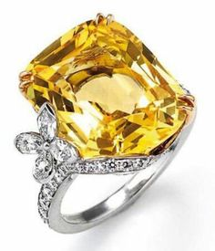 Celebrities who use a Harry Winston Yellow Sapphire Marquesa Ring. Also discover the movies, TV shows, and events associated with Harry Winston Yellow Sapphire Marquesa Ring. I Love Jewelry, High Jewelry, Jewelry Rings, Jewelry Accessories, Jewelry Design, Jewellery Sale, Tanishq Jewellery, Jewelry Making, Harry Winston