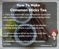 How To Make Cinnamon Sticks Tea