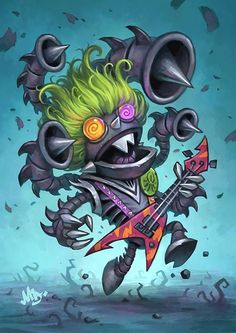 ✔ Card Name: Psych-o-Tron Artist: Matt Dixon