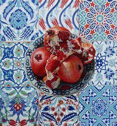 We love pomegranates.