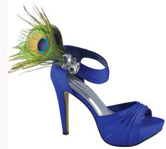 Prom Shoes, High Heels, Sexy Shoes, Formal Dress Shoes- PromGirl: Peacock by Johnathan Kayne in Royal Blue Royal Blue High Heels, Royal Blue Wedding Shoes, High Heels For Prom, Bridal Wedding Shoes, Blue Pumps, Prom Shoes, Dream Wedding, Pageant Shoes, Wedding Dresses