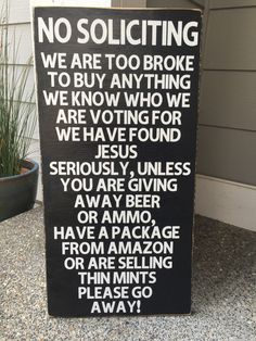 This beautiful sign will sure be a conversation piece in your home! These are hand painted, lightly sanded and made from new wood right here in the heartland of America, then the wording and top seal