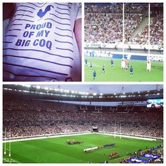 Always proud of my Coq! #FRAANG #ovalie #stadedefrance #fistsetlettres #proudofmybigcoq