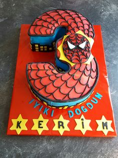 Spiderman Torte / Pastasi ♥ Facebook: https://www.facebook.com/PS-Backparadies-925100764244774/