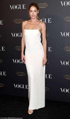 Hot to trot:The former Victoria's Secret model was the second highest paid model in the world in 2014 behind Gisele Bundchen