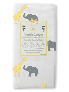 Safari Fun by SwaddleDesigns #Babygift