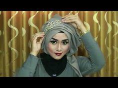 Hijab Wisuda Simple, Cantik,anggun,Mewahz Dan Elegan Dengan Menggunakan Hijab Segi Empat 1 - YouTube