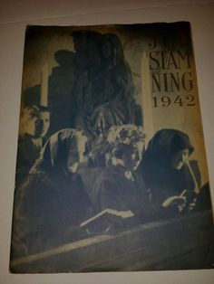 Julstamning a large-format art magazine 1942 from Sweden