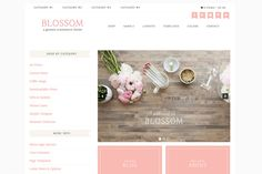 Check out Blossom // An Ecommerce Genesis Them for Wordpress using WooCommerce.  Very nice!!