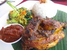Ayam Betutu_Bali (Chicken). Good taste!!