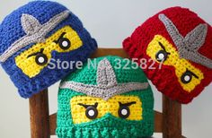 touca ninja go crochet - Pesquisa Google