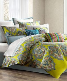 Yellow India Duvet Set
