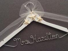 Starfish Beach Wedding Hanger, Destination Wedding Hanger, Bridal Hanger, Bridal Shower Hanger, Wedding Dress Hanger