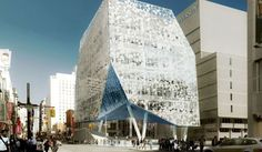 A New Student Learning Centre for Ryerson University in Toronto, Canada – Snøhetta and ZPA