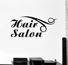 WOMANHAIRBEAUTYSALONVinylWindowStickerDecalBusinessSigns - Custom vinyl wall decals for hair salonvinyl wall decal hair salon stylist hairdresser barber shop