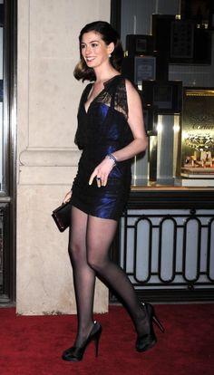 Anne Hathaway Loves Heels