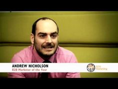 marketer of the year Andrew Nicholson talks about the benefits of Lead Forensics Forensics, Social Marketing, Web Development, Benefit, Communication, Awards, Videos, Youtube, People
