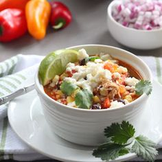 Tex Mex Chicken Soup