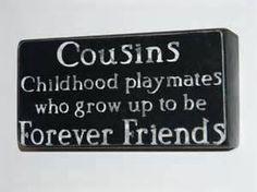 Cousinen Spruch