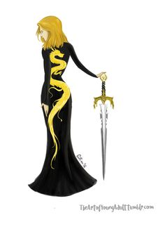 The Queen of Shadows dress