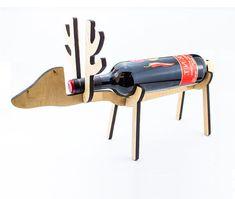 Wine rack in the form of Deer Wine Holder Wine bottle holder Stand for bottles Wine bottle stand Bottle holder Wine carrier Wine accessories