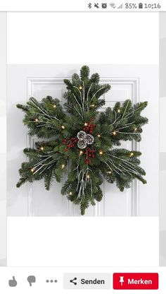 Weihnachten - New Ideas Christmas Gnome, Rustic Christmas, Christmas Holidays, Christmas Crafts, Xmas, Christmas Ornaments, Christmas Trees, Christmas Door Decorations, Holiday Wreaths