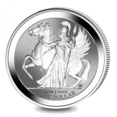 Pegasus - 2017 Reverse Proof Silver Bullion