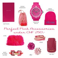 Pink Accessories Sophie Anderson, Pink Accessories, Smythson, Fendi, Watches, Smoothie, Advertising, Wrist Watches, Smoothies
