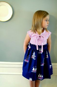 Sewing Dress tutorial Here is an absolutely stunning dress that will lighten up any face. Play...