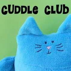 """Cuddle Club at Shiny Happy World - The best craft site you will find for tutorials on how to make """"softies"""" - cuddly toys that kids will love!"""