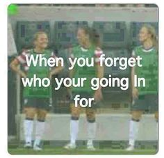 Hahaha i did this once it made me feel stupid, luckily my coach called them off for me :P