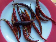 Toasted chile de arbol, Mexico