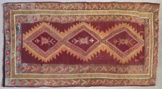 Tapis Kilim ancien / Antique kilim rug