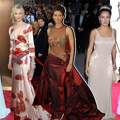 Whether you win or lose, everyone will remember what you wore. Oscar Fashion, Vogue Fashion, Runway Fashion, Fashion News, Gucci Gown, Valentino Gowns, Best Oscar Dresses, Oscars Red Carpet Dresses, Vogue Beauty