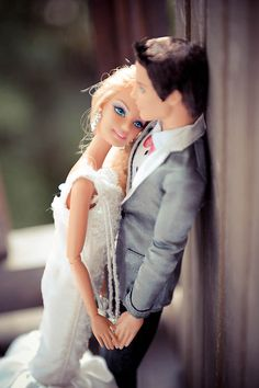Barbie & Ken wedding album...just in case all the wedding photogs thought they were original in their presentation...