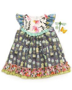 Stay Sharp Fancy Flutter Dress